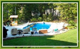 Knights Lawn Care - Pool